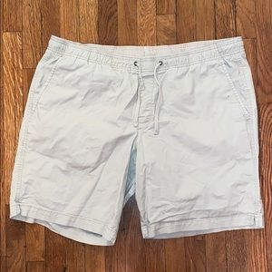 Gap khaki drawstring shorts